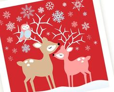 12 free Christmas Card Printables...love these!