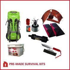 72 hour Kit   The Best 2 Person 96 Hour Bug Out Bag on Planet Earth everything you need in one kit.