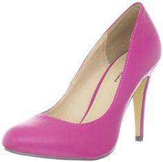 Amazon.com: Michael Antonio Women's Lydia-PU Pump: Michael Antonio: Shoes