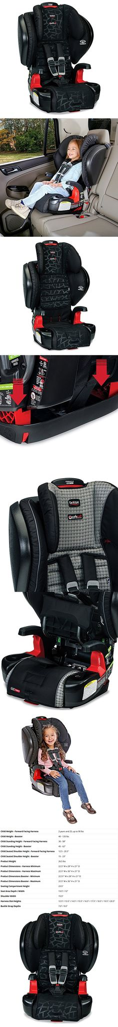 Britax Pinnacle ClickTight G11 Harness 2 Booster Car Seat Mosaic