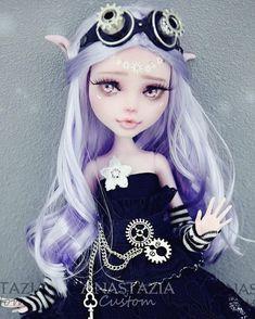 Gothic-steampunk MH Doll