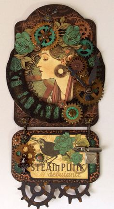 Steampunk tag using steampunk debutante