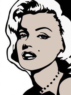 Marilyn Monroe, Pop Art.