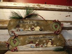 Old fan blades Christmas Craft Fair, Christmas Items, Christmas Deco, Christmas Signs, Christmas Projects, Winter Christmas, Holiday Crafts, Handmade Christmas, Xmas