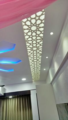 Awesome Tips: False Ceiling Design Drywall false ceiling gypsum types of.Round False Ceiling Spaces false ceiling living room l shape. False Ceiling Living Room, Ceiling Lights, Living Room Modern, False Ceiling Design, Ceiling Lights Diy, Minimalist Interior Design, Diy Ceiling, Colored Ceiling, Ceiling Beams