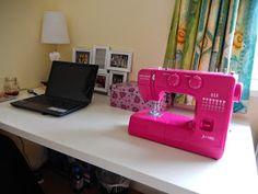 Roseanna Creates!: My Sewing Space: Uni Edition!