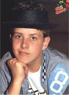 Little Joey McIntyre Famous Celebrities, Celebs, Joey Mcintyre, Tv Show Music, Jordan Knight, Jordans Girls, First Crush, Second Best, New Kids