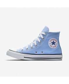 4827270525e0 Converse Chuck Taylor All Star Seasonal High Top Blue 157615F-458 Mens Converse  Trainers