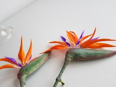 Sugar birds of paradise by The Snowdrop Cakery