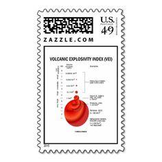 Volcanic Explosivity Index (VEI)  Geology Volcano Stamps #volcanicexplosivityindex #vei #geology #volcano #earthscience #geologist #yellowstone #volcanologist #earthscientist #geek #wordsandunwords Here's a stamp featuring the Volcanic Explosivity Index (VEI).