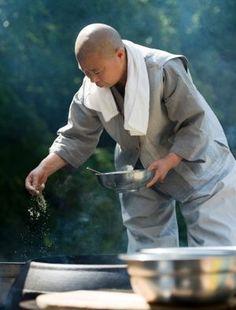Buddhist monk Jeong Kwan.
