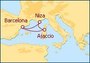 Crucero Córcega, Toscana y Occitania