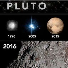 Our Solar System Pluto Astronomy Facts, Space And Astronomy, Astronomy Science, Cosmos, Science Facts, Fun Facts, Science Memes, Pluto Planet, Planets And Moons