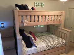 Twin over Full with Trundle, storage stairs