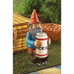 Beer Can Holder Gnome Sta... - AC Treasures | Scott's Marketplace