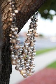 Go classic with pearls #prom #stspromweek