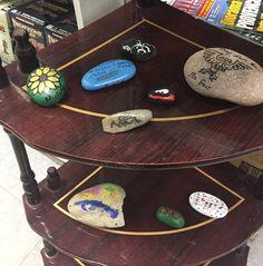More #paintedrocks for our #pensacolarocks #rocktradingpost at #bobeshobbyhouse !
