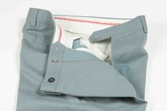 Trouser with inside grip