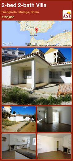 2-bed 2-bath Villa in Fuengirola, Malaga, Spain ►€130,000 #PropertyForSaleInSpain