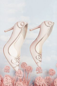 91b413f64a65 Ana Rose. Blush HeelsBride ShoesWedding ...