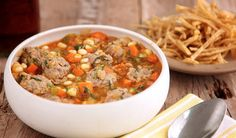 Lamb Meatball Soup http://www.chefd.com/collections/all/products/lamb-meatball-soup-1