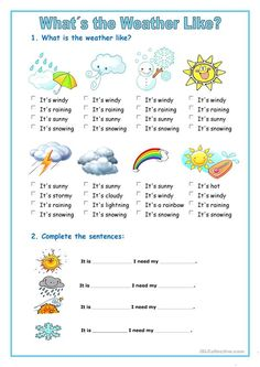 A collection of English ESL Weather worksheets for home learning, online practice, distance learning and English classes to teach about Weather Lesson Plans, Weather Lessons, Esl Lesson Plans, Esl Lessons, English Lessons, Learn English, Teaching Weather, Weather Vocabulary, Weather Worksheets