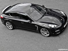 Kahn Design Porsche Panamera Styling Package