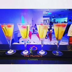 Cocktails by The Hunters Cocktails. Visit our food tasting session at the Wedding Fair