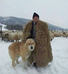 Romanian shepherd and Mioritic sheepdog Beautiful Places To Visit, Beautiful World, Romania People, Anima Mundi, Romanian Girls, Visit Romania, We Are The World, Bucharest, Mans Best Friend