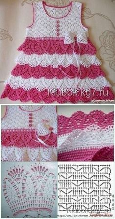 Fabulous Crochet a Little Black Crochet Dress Ideas. Georgeous Crochet a Little Black Crochet Dress Ideas. Crochet Summer Dresses, Black Crochet Dress, Baby Girl Crochet, Crochet Baby Clothes, Crochet For Kids, Crochet Bebe, Crochet Baby Dress Pattern, Crochet Fabric, Crochet Patterns