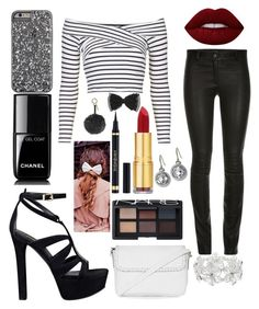 """""""perfectly perfect"""" by winternightfrostbite ❤ liked on Polyvore featuring Topshop, GUESS, M&Co, NARS Cosmetics, Lime Crime, Chanel, Beauxoxo, Isaac Mizrahi, Monica Rich Kosann and Fendi"""