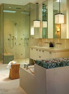 Luxury Home Spa and Five Star Master Bathroom - Award Winning Best Bathroom Design Pictures - Bathroom Design - iBaths.com