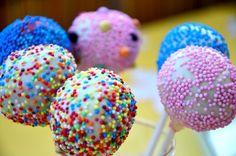 Cakepops, Backen Baby, Baby Kind, Desserts, Photo Tutorial, Balls, Kindergarten, Food, German Recipes