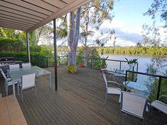 2008 - Our wonderful back deck, Chelmer