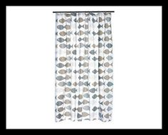 Fish Shower Curtain Beautiful Bathrooms, Curtains, Shower, Rugs, Home Decor, Rain Shower Heads, Farmhouse Rugs, Blinds