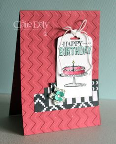 Stampin' Up! Saleabration 2015: Big Day Stamp Set. Quick and Easy DIY Birthday Cards.