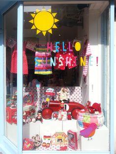 Hello Sunshine Window Display