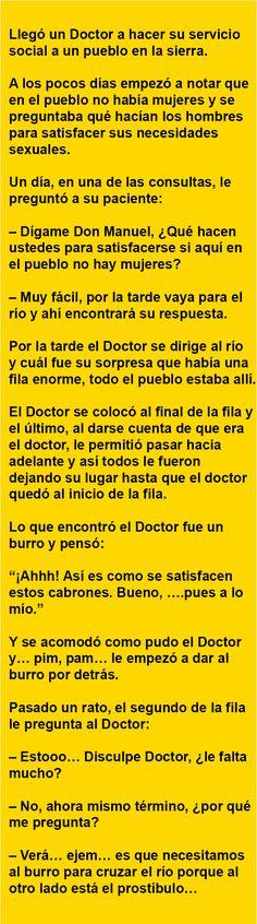 Llegó un Doctor a hacer su servicio … | AldeaViral