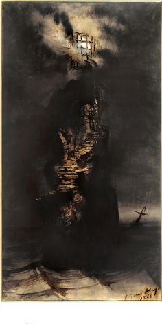 Victor Hugo: drawing