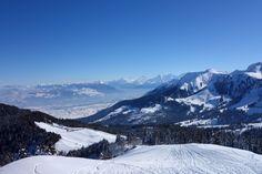 The wonderful view from the Gantrisch, #Switzerland