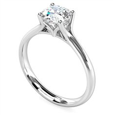 Round Diamond Engagement Ring from Diamond Heaven. View the full range of Solitaire Engagement Rings online now, or visit us in store. Trilogy Engagement Ring, Engagement Rings Cushion, Round Diamond Engagement Rings, Diamond Solitaire Rings, Solitaire Engagement, Vintage Engagement Rings, Eternity Rings, Greys Anatomy Brasil, Art Nouveau