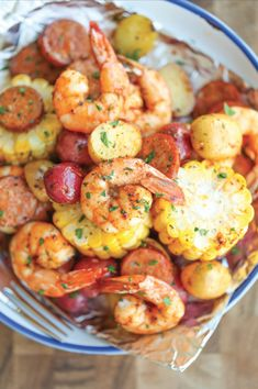 foil pack recipes shrimp boil