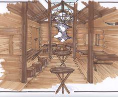 skihut interieur - Google zoeken | Swedish garden inspiration ...