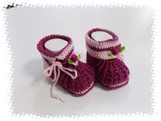 Babyschuhe/Stiefelchen  von sweet baby shoes store auf DaWanda.com