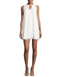 Casual Couture Georgette Mini  Dress
