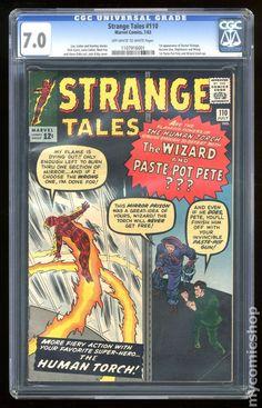 Strange Tales #110 (first appearance of Dr. Strange)