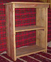 Barn Board Bookshelf