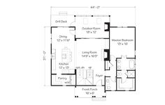 But switch living room and dining room..also master upstairs, office in that space on the main