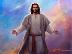 Jesus Christ Painting - Sacred Space by Greg Olsen Images Du Christ, Images Bible, Pictures Of Jesus Christ, Greg Olsen Art, Image Jesus, Jesus Christus, Lds Art, Jesus Painting, Jesus Art