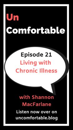 In this episode of Uncomfortable the Podcast, I talk with Shannon MacFarlane. Shannon remembers suffering from endometriosis from as young as 12 years old. Since then she has been diagnosed with three other chronic illnesses. Shannon's son also suffers from a chronic illness. Shannon shares her journey and what her day-to-day life is like living with illnesses that others struggle to understand.  Listen over on your fav podcast player.   #podcast #chronicillness #UncomfortableThePodcast Mental Health Diagnosis, Thing 1, Good Grades, Girls Be Like, Love And Marriage, Chronic Illness, Vulnerability, Trauma
